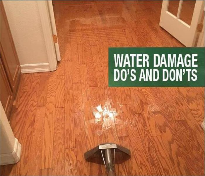 Water Damage Safety Precautions Following Residential Water Loss