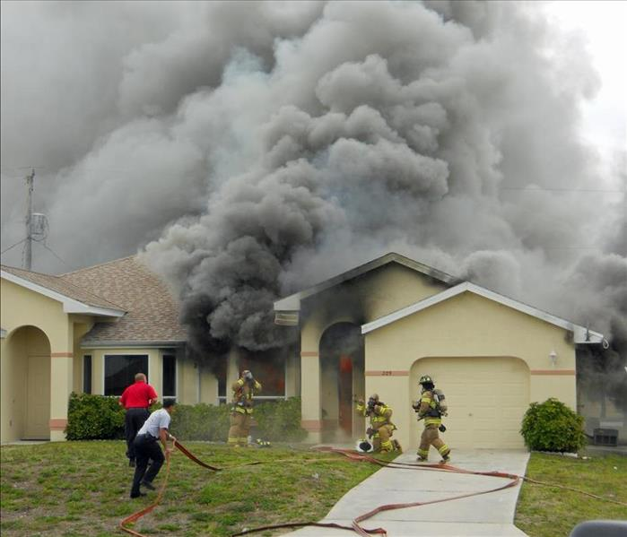 Fire Damage Understanding the Different Types of Smoke